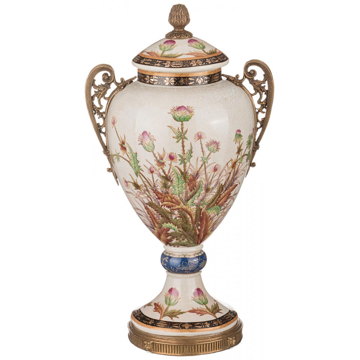 {} Lefard Ваза Gianna (20х25х47 см) ваза mughal l 20 х 20 х 30 см