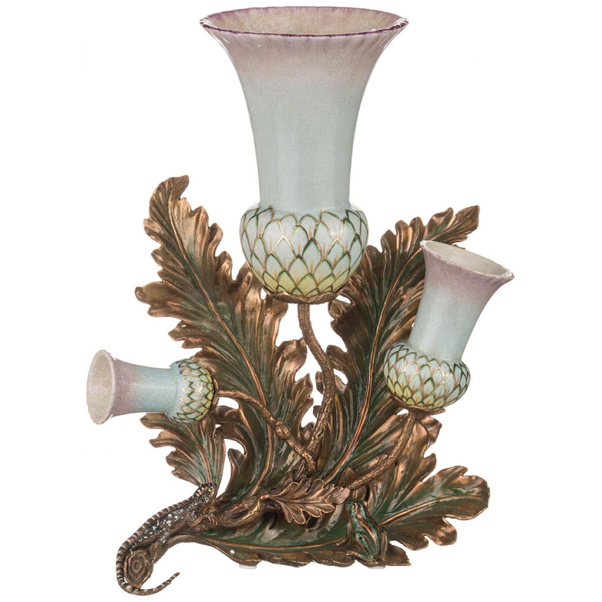 {} Lefard Ваза Stripe (15х30х36 см) ваза x lady 30 см crystal bohemia ваза x lady 30 см