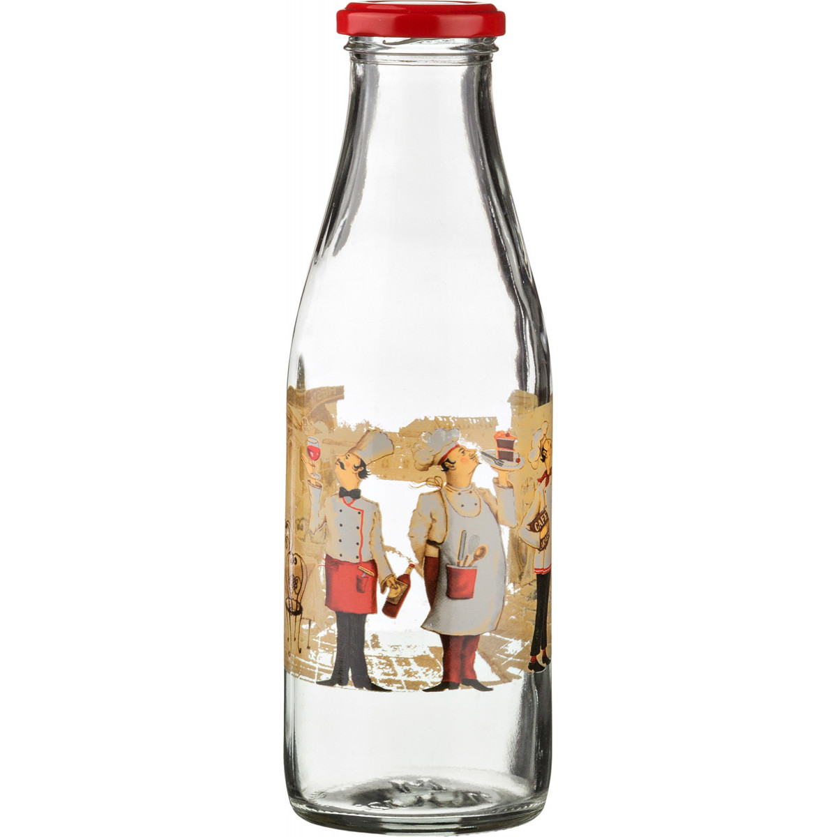 {} Pasabahce Бутылка Shea (500 мл) бутылка 500 мл бургунди