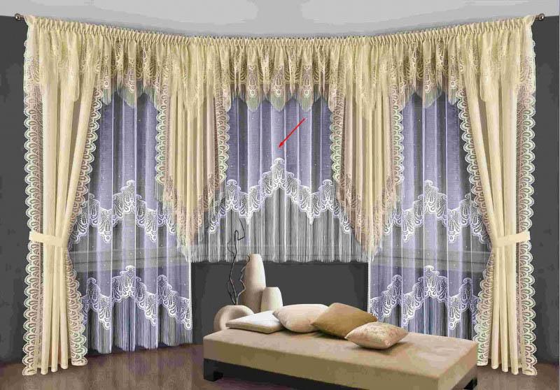 Шторы Wisan Классические шторы Сан Ремо Цвет: Белый wisan wisan классические шторы noele