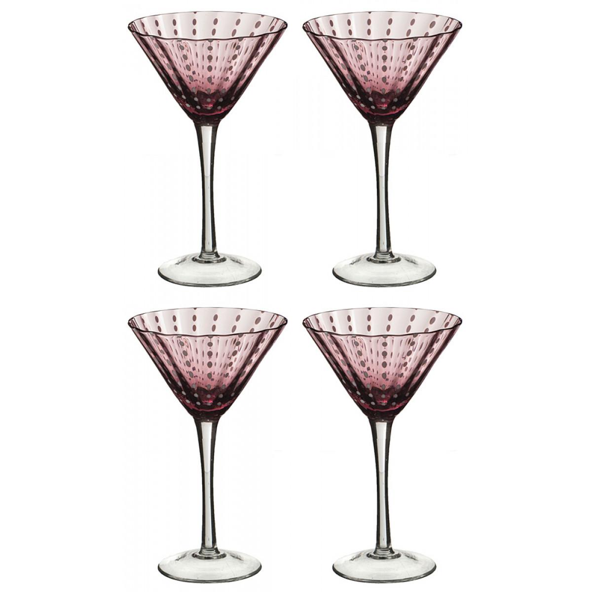 {} Lefard Набор бокалов для коктейлей Peronel  (18 см - 4 шт) giftman набор бокалов для молодоженов нежность 21 см авторская работа белый