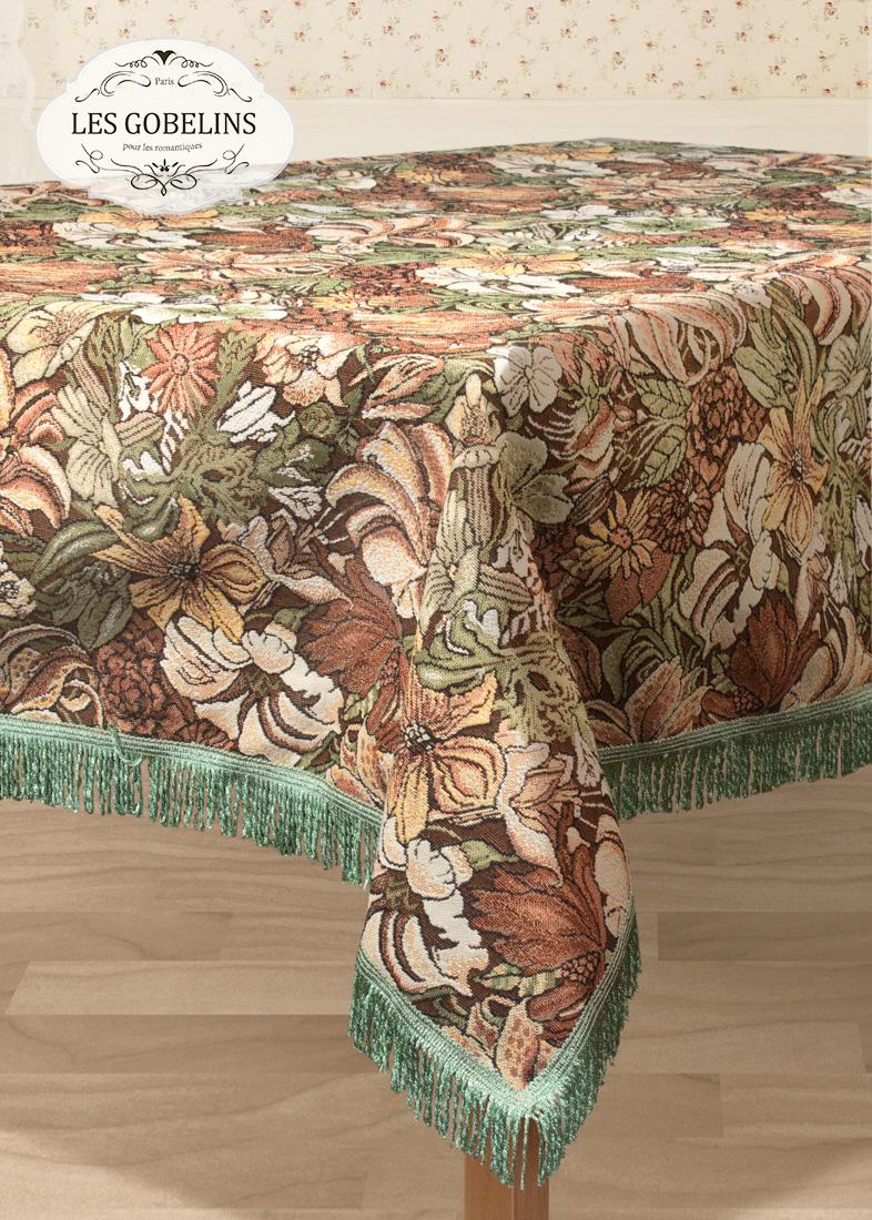 Скатерти и салфетки Les Gobelins Скатерть Art Nouveau Lily (130х130 см)