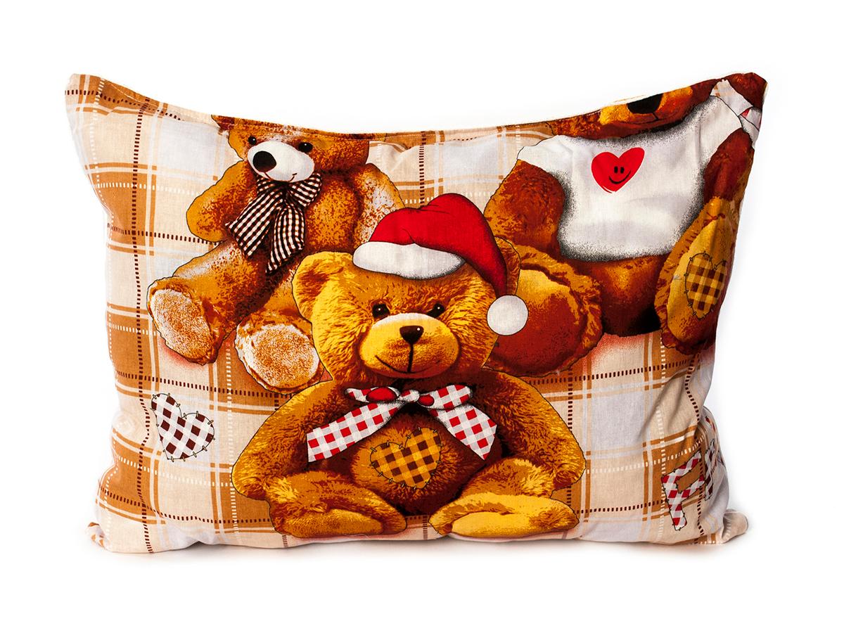 Детские покрывала, подушки, одеяла Cleo Детская подушка Медвежонок (40х60)