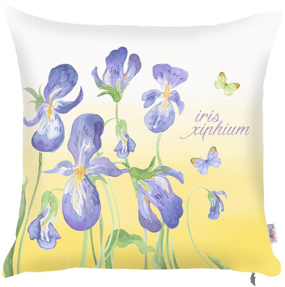 где купить Декоративные подушки Apolena Декоративная наволочка Iris (43х43) по лучшей цене