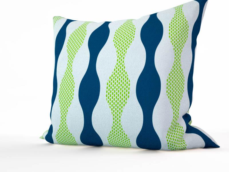Декоративные подушки StickButik Декоративная подушка Летние Ленты (45х45)