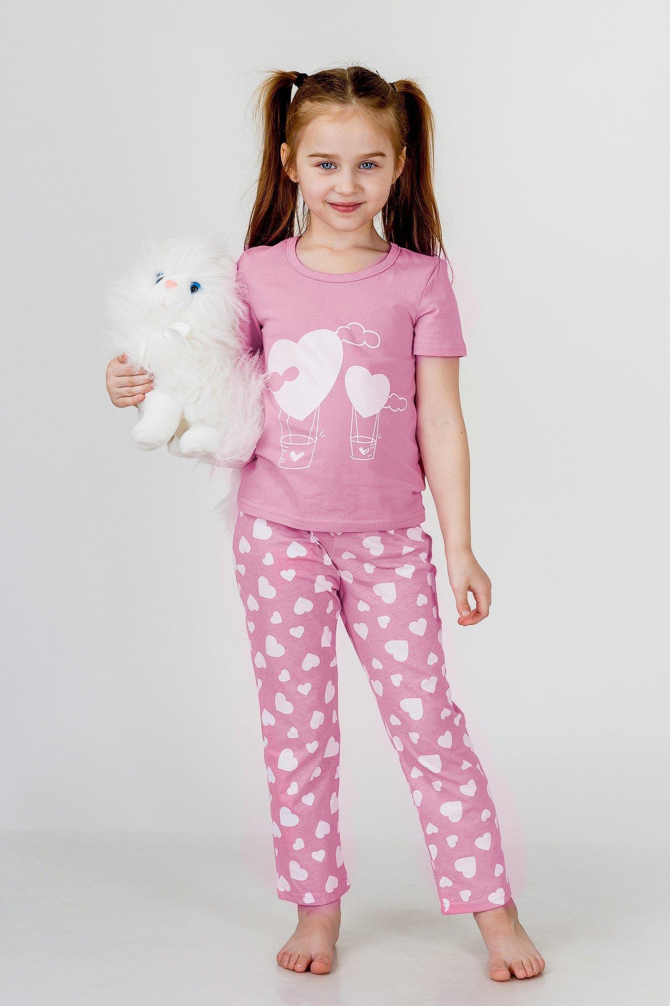Детские пижамы Pastilla Детская пижама Стелла Цвет: Брусничный (4-5 лет)