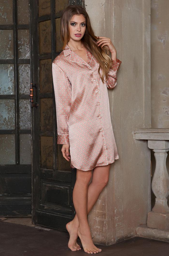 Ночные сорочки Mia-Mia Ночная сорочка Agata (M) ночные сорочки mia mia ночная сорочка rosalia m