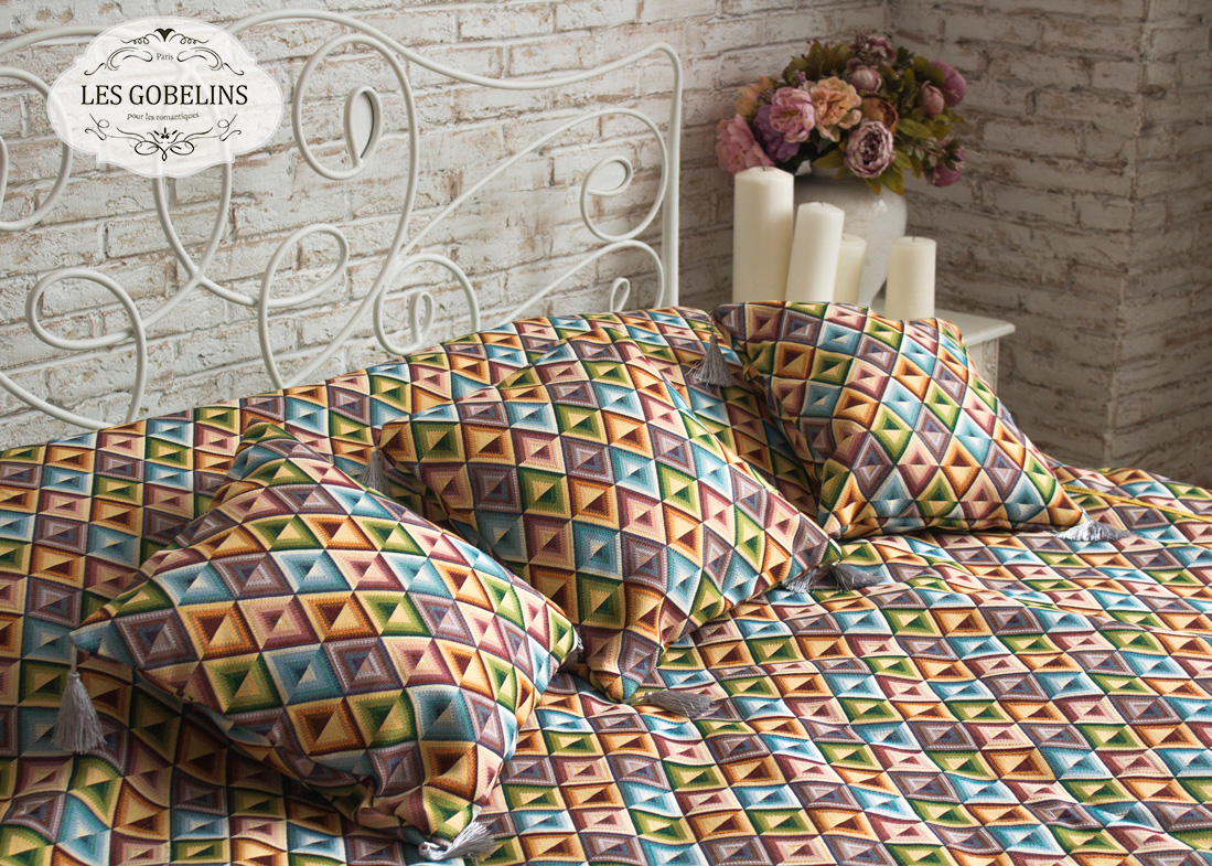 Декоративные подушки Les Gobelins Декоративная наволочка Kaleidoscope (40х40)