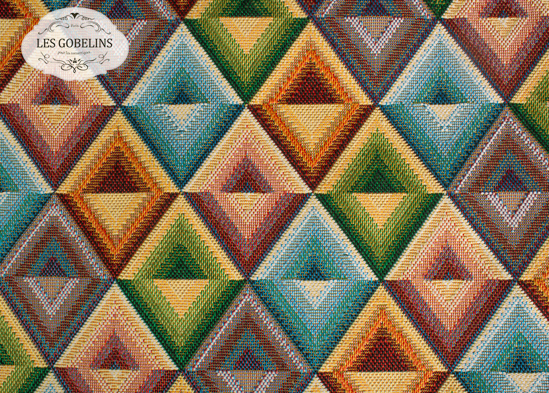 Покрывало Les Gobelins Накидка на диван Kaleidoscope (130х190 см) les gobelins les gobelins kaleidoscope 190 190