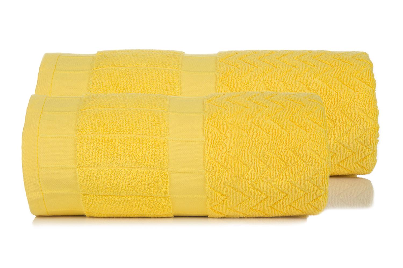 Полотенца Toalla Полотенце Зигзаги Цвет: Желтый (50х90 см)