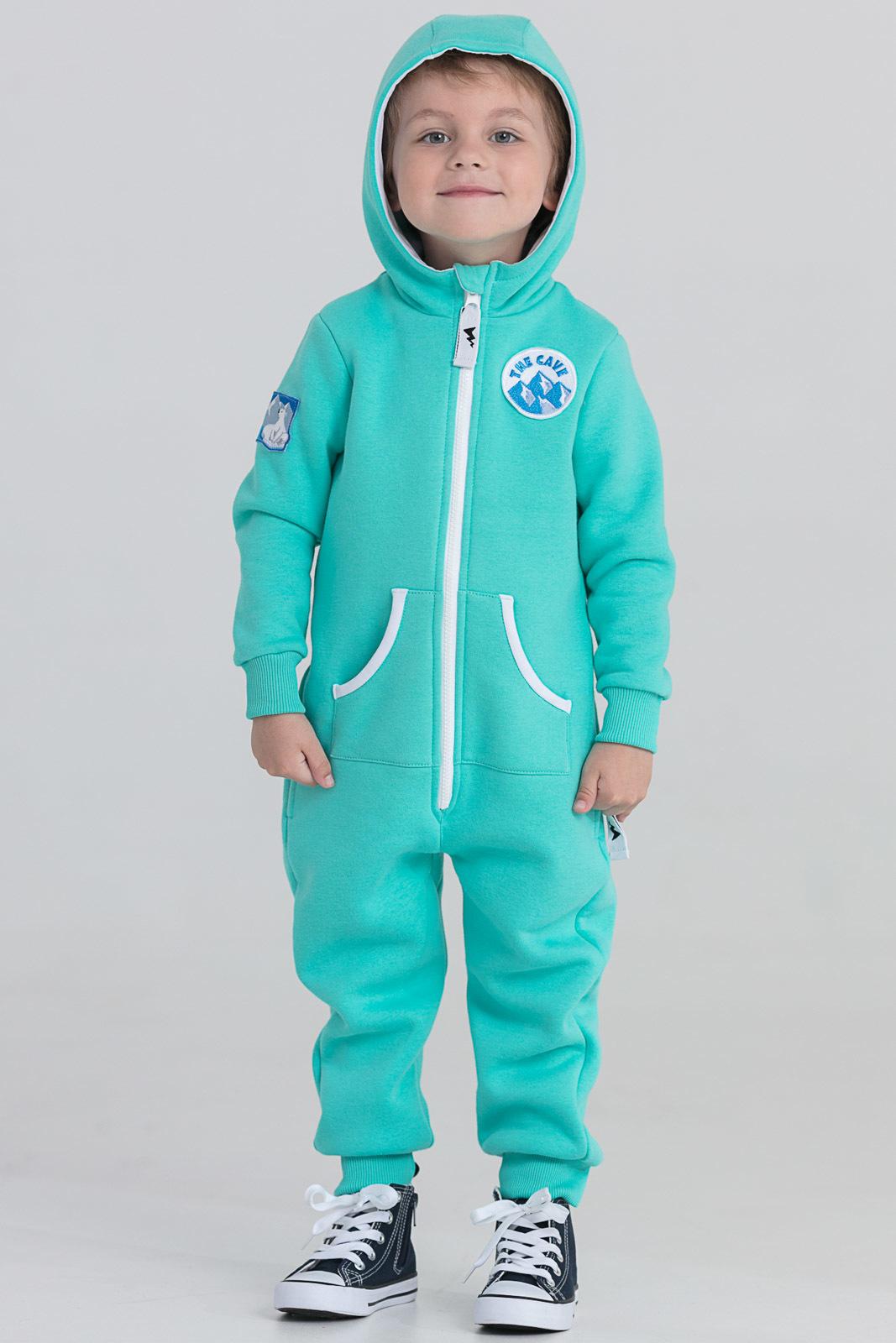 Детская домашняя одежда The Cave Детский комбинезон Darrel Цвет: Мята (2 года) флисовый комбинезон детский 2 года