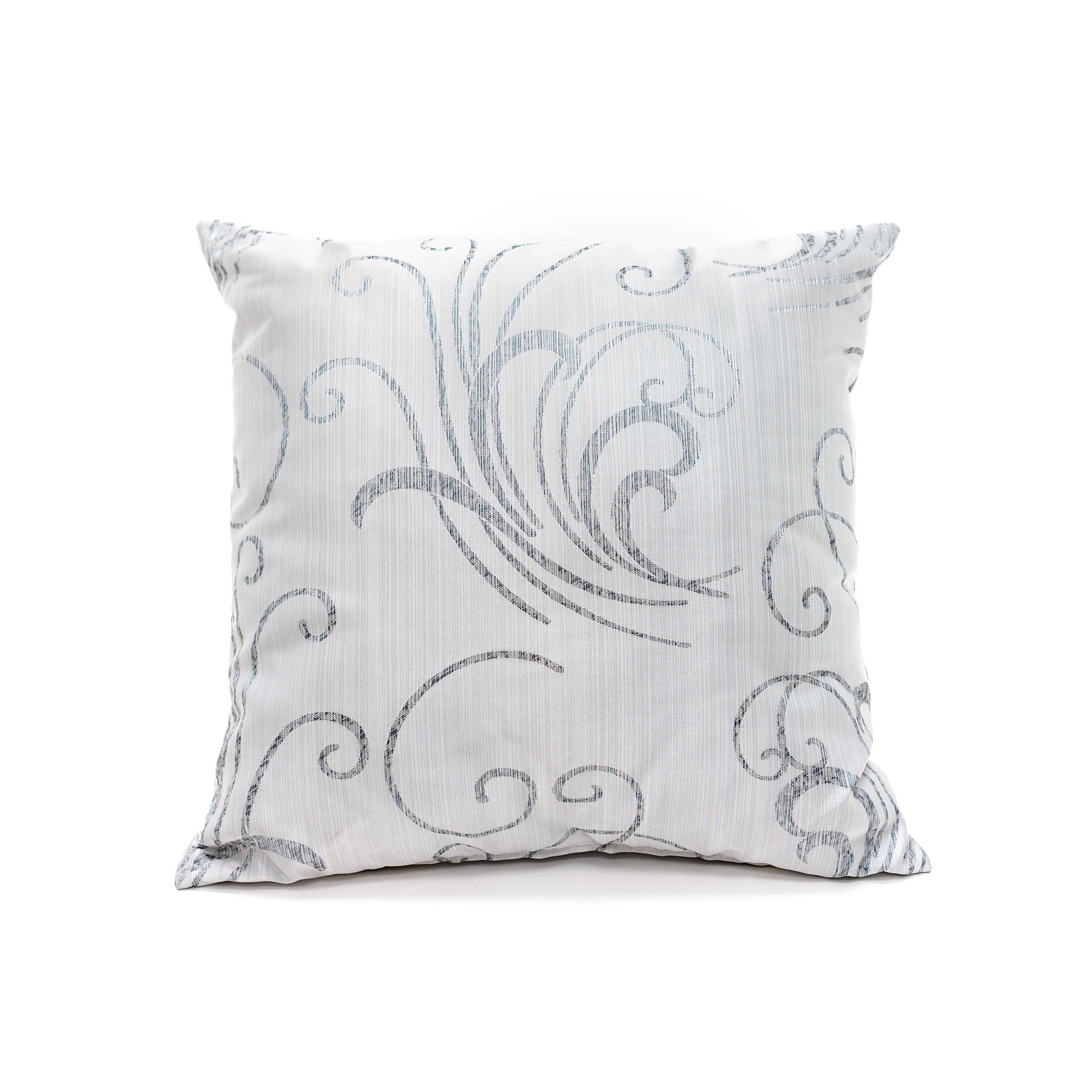 Декоративные подушки DAILY by T Декоративная подушка Флорида Цвет: Серый-Голубой (40х40) декоративные подушки t