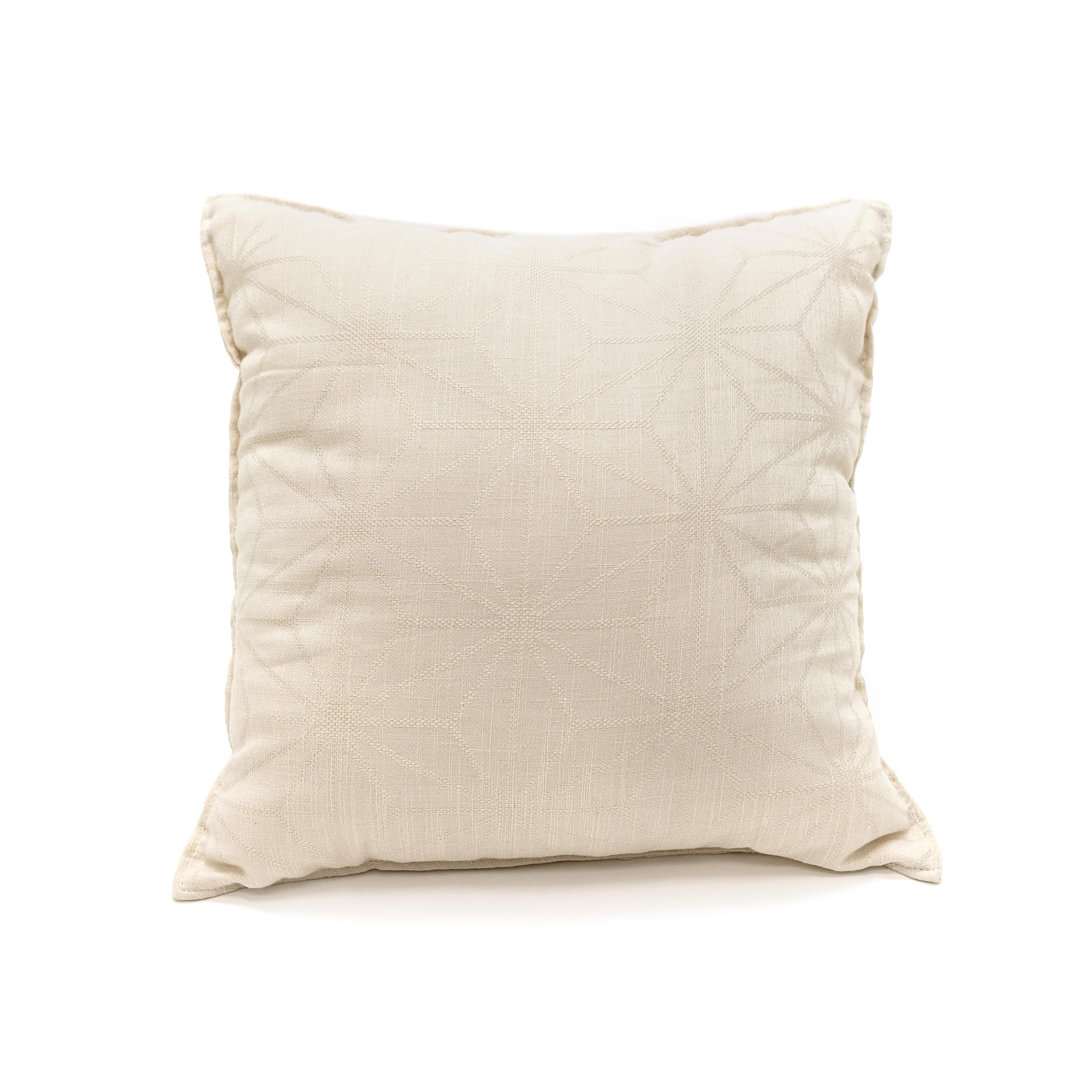где купить Декоративные подушки DAILY by T Декоративная подушка Бурже Цвет: Белый (40х40) по лучшей цене