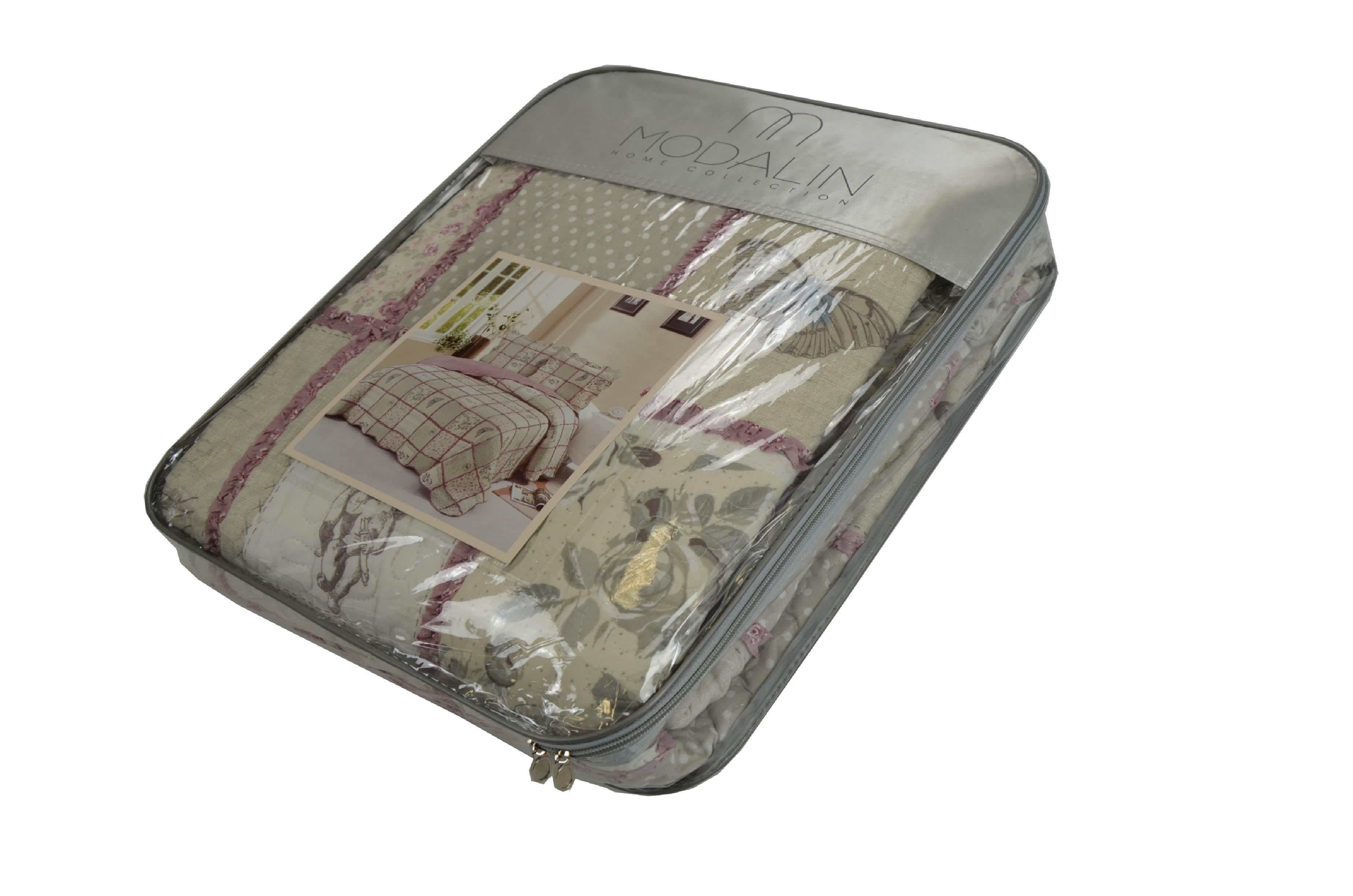Покрывало Modalin Покрывало Sharon V14 (160х220 см) modalin modalin полотенце petek цвет розовый 70х140 см
