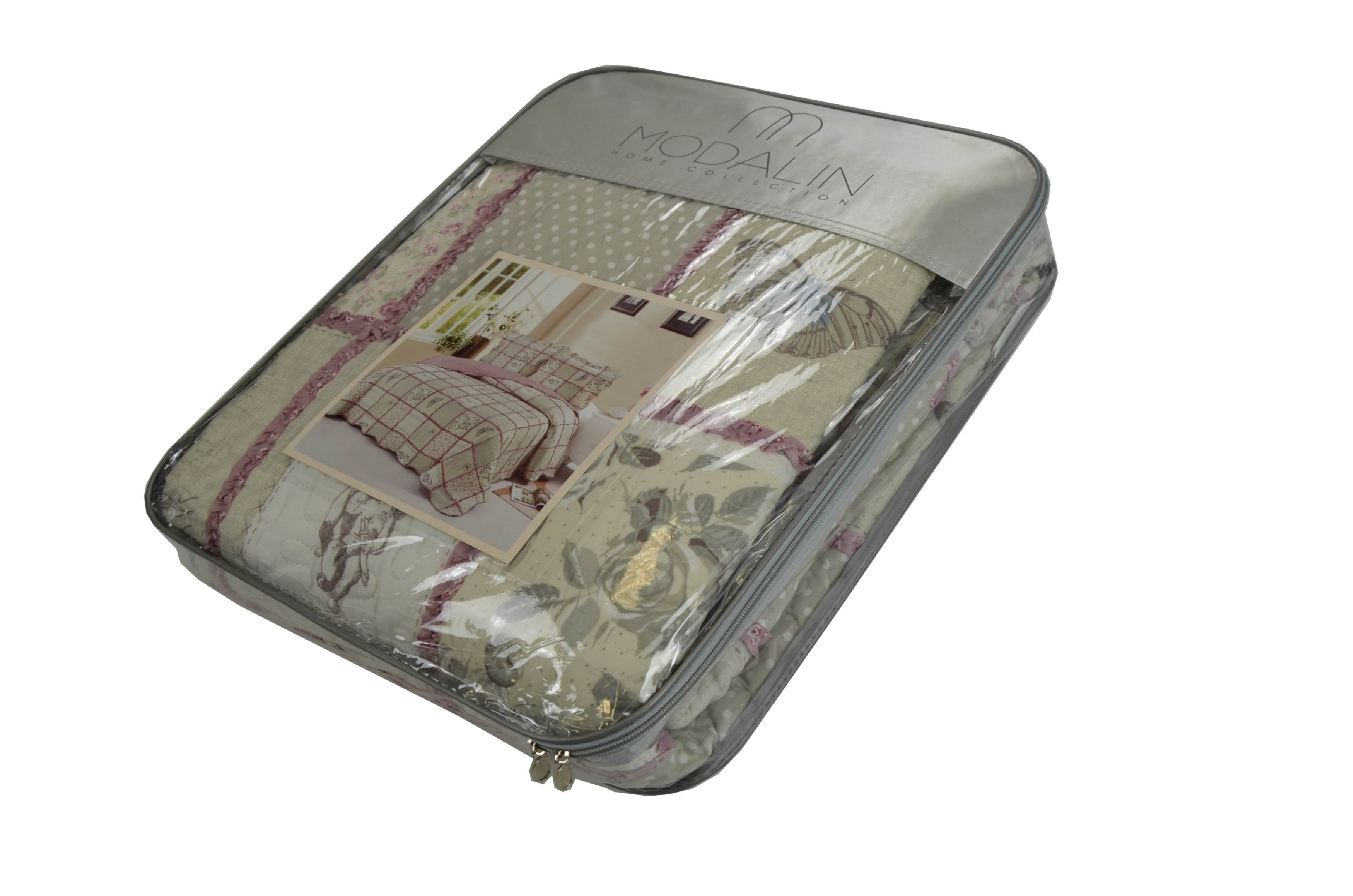 Покрывало Modalin Покрывало Debi V10 (230х250 см) modalin modalin полотенце petek цвет розовый 70х140 см