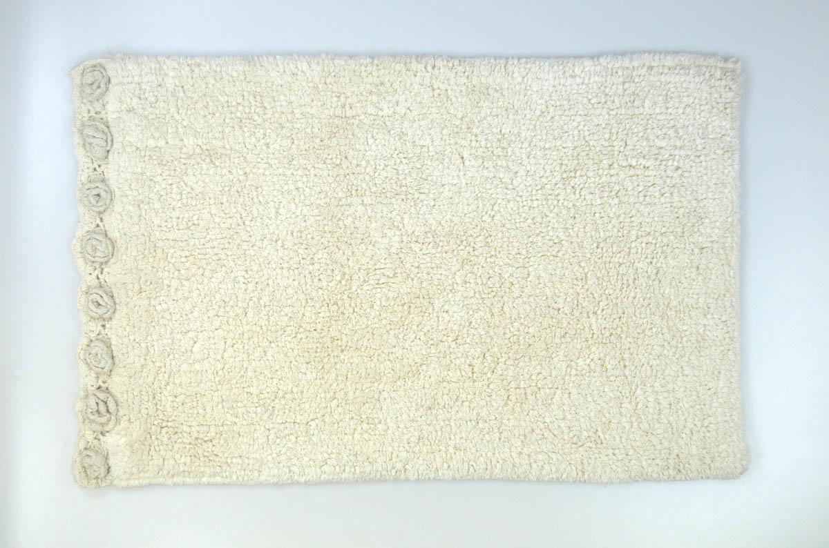 Аксессуары для ванной и туалета Modalin Коврик для ванной Nuela Цвет: Кремовый (50х80 см) коврик для ванной арти м 50х80 см розанна