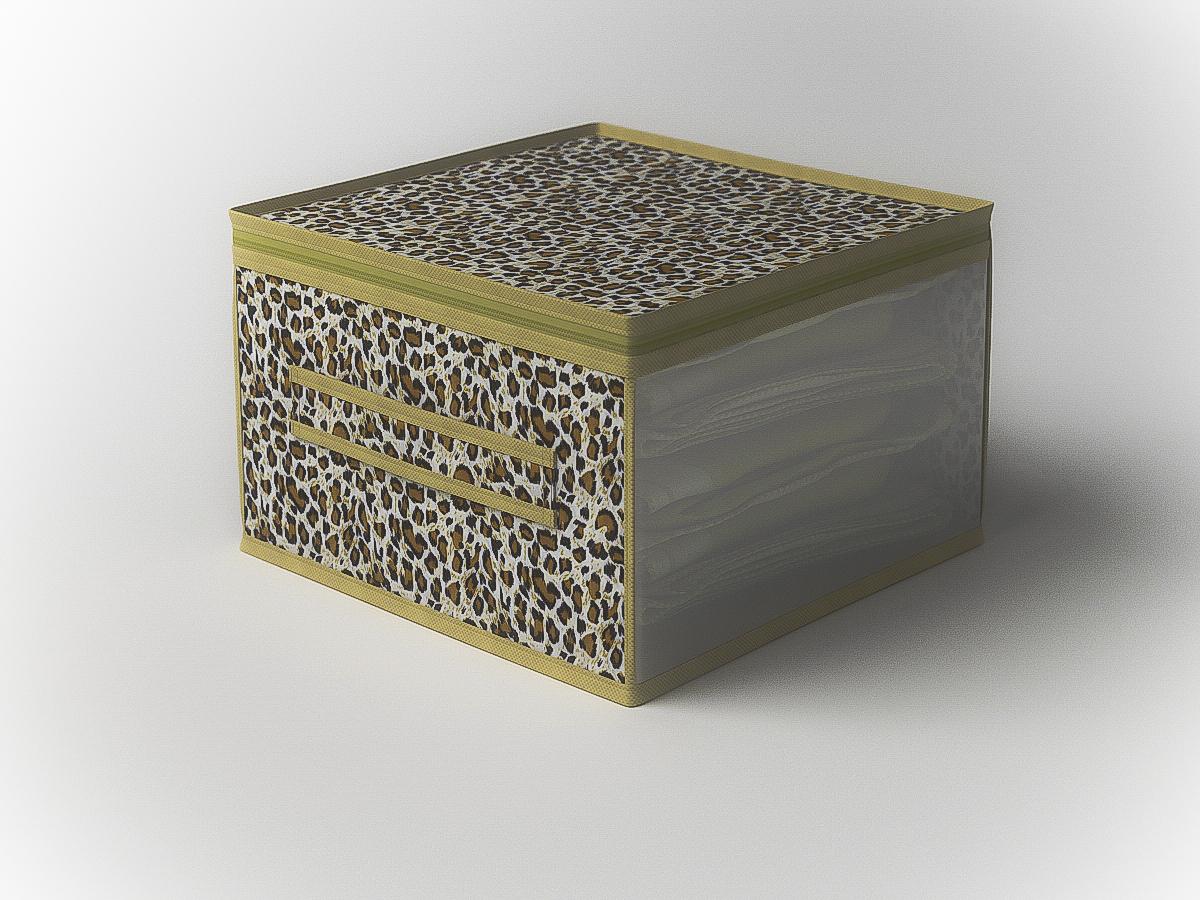 {} CoFreT Кофр для хранения Сафари (30х50х60 см) кофр стеллажный для хранения вещей valiant vintage 2 секции 50 x 30 x 20 см