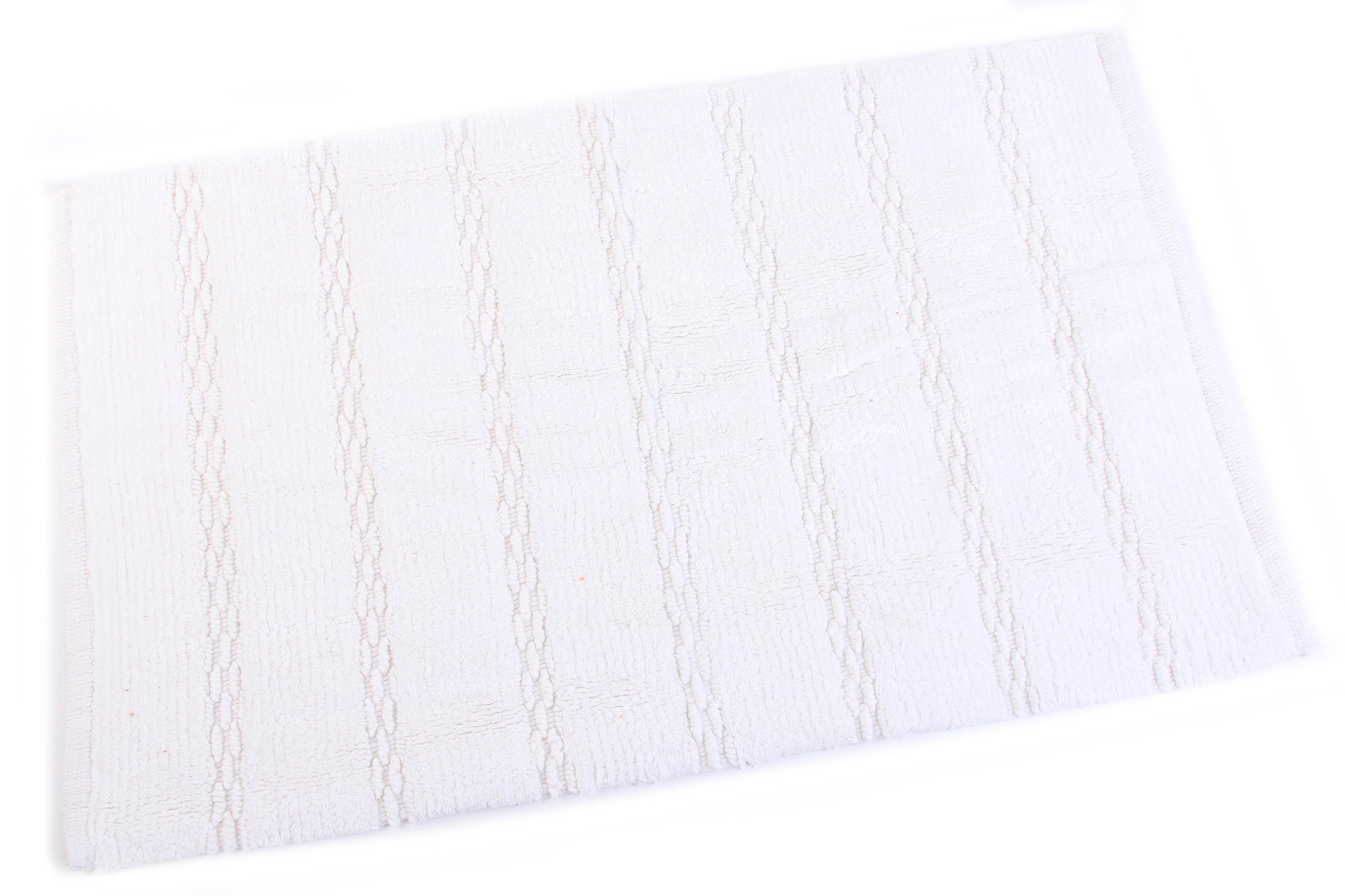 Аксессуары для ванной и туалета Ганг Коврик для ванной Cohen Цвет: Белый (50х80 см) коврик для ванной арти м 50х80 см розанна