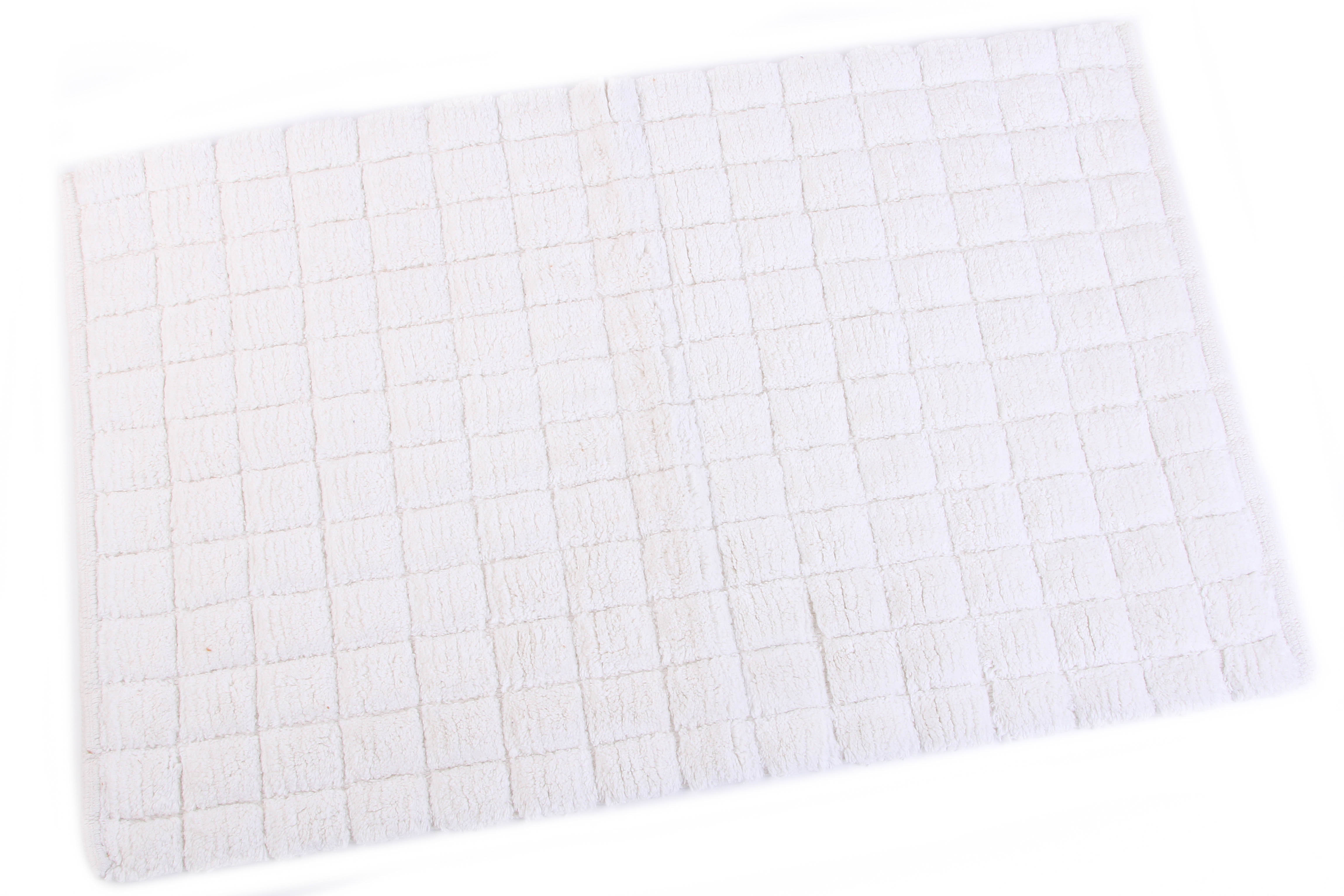 Аксессуары для ванной и туалета Ганг Коврик для ванной Maev Цвет: Белый (50х80 см) комод для ванной aquaton мадрид 80 белый