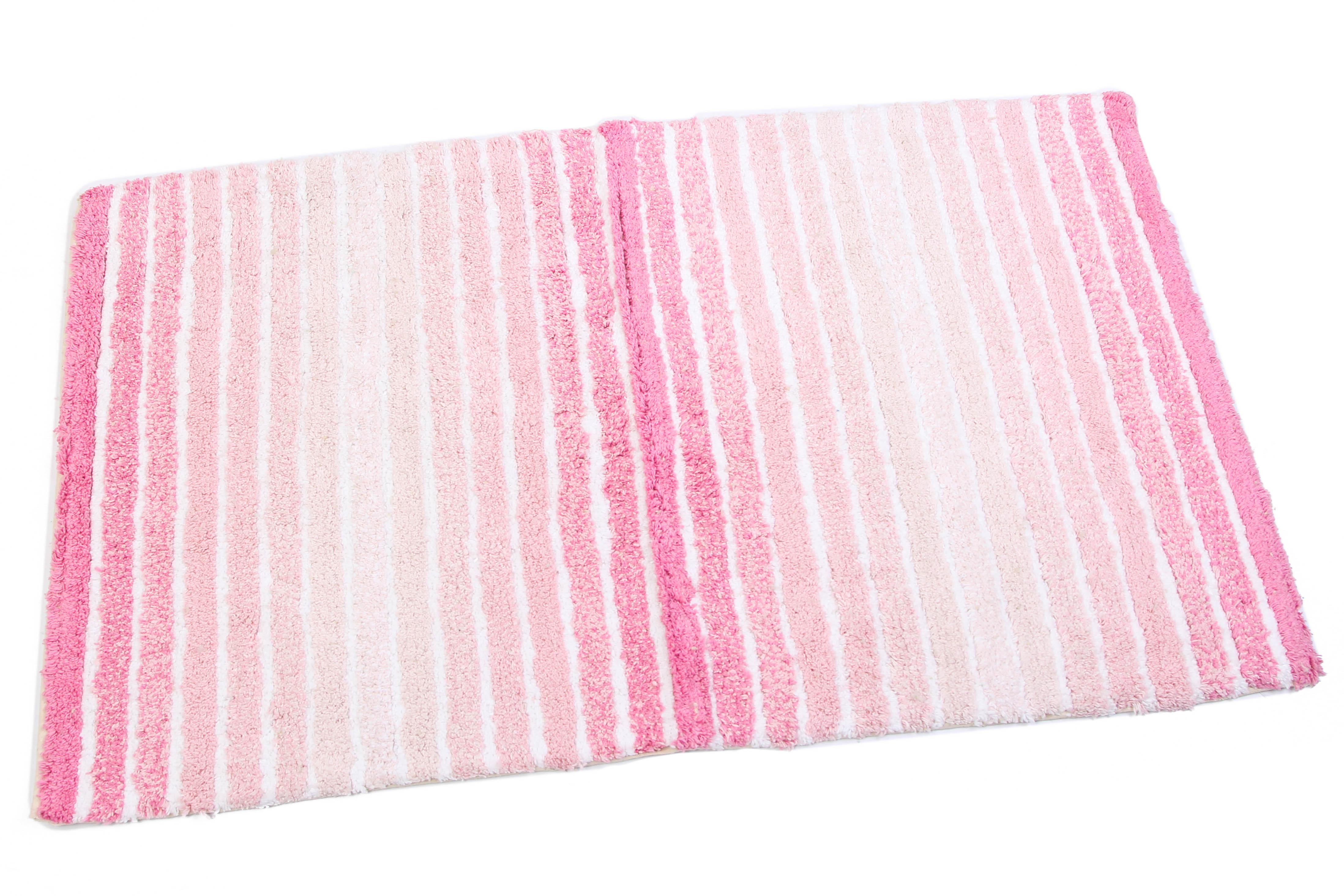 Аксессуары для ванной и туалета Ганг Коврик для ванной Luvinia Цвет: Розовый (50х80 см) коврик для ванной арти м 50х80 см розанна