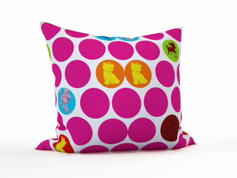 где купить Декоративные подушки StickButik Декоративная подушка Королевский Пес (45х45) по лучшей цене