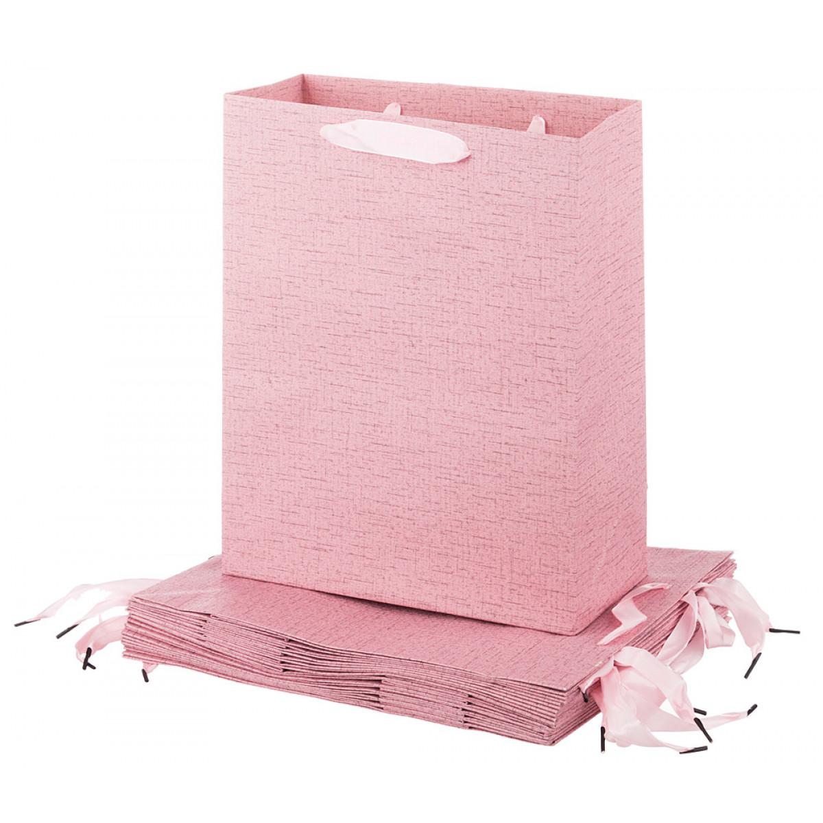 {} Lefard Пакет подарочный Linda  (12х26х32 см - 12 шт) magic time подарочный пакет новогодняя лампа 26 32 4 12 7 см