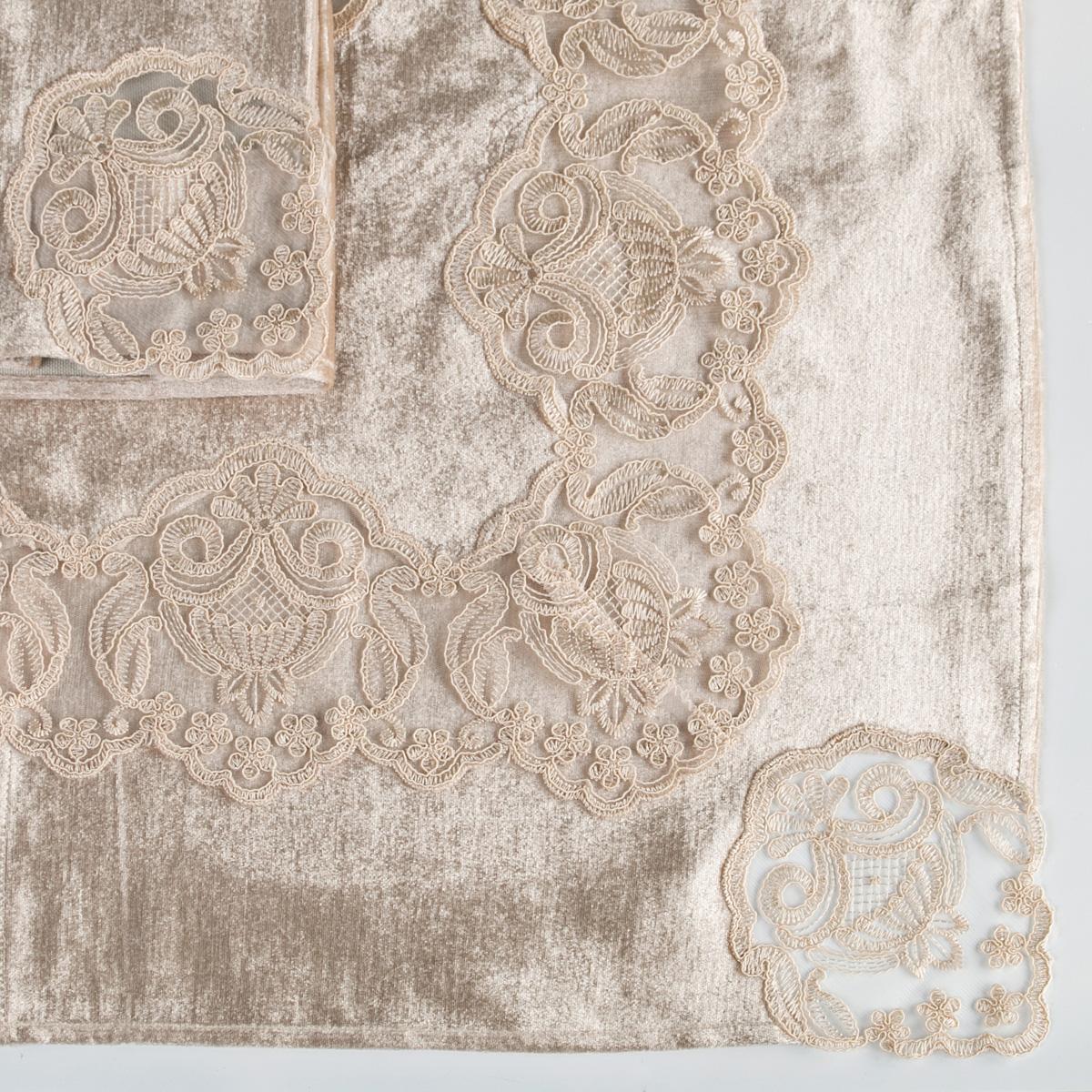 Скатерти и салфетки Santalino Салфетки Mazzano  (45х45 см - 3 шт) салфетки duni салфетки duni комплект 2 шт