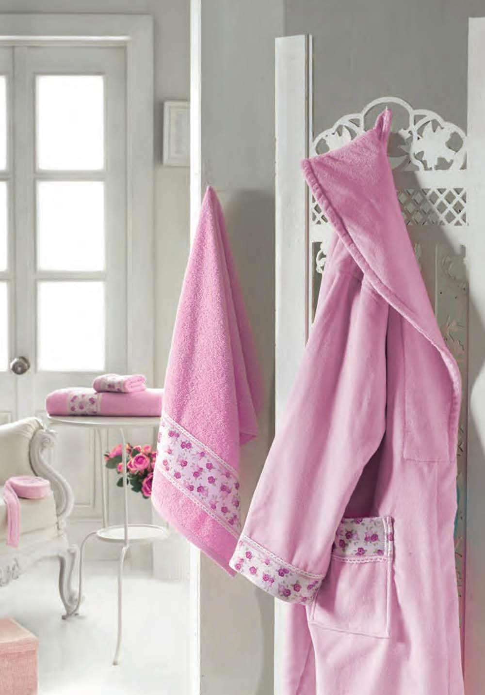 Сауны, бани и оборудование Primavelle Халат Lia Цвет: Розовый (L-xL) сауны бани и оборудование primavelle халат smile цвет персиковый m l