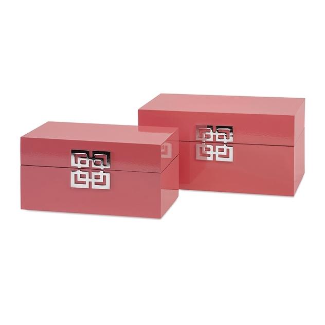 {} Home Philosophy Коробка-контейнер Adalie (Набор) home philosophy статуэтка lissan цвет красный черный набор