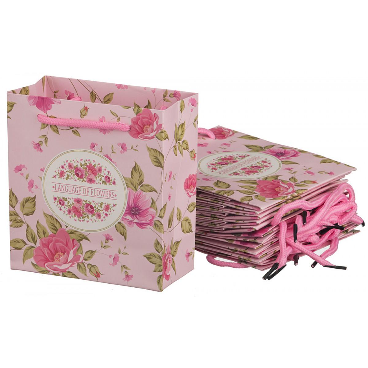 {} Lefard Пакет подарочный Stefanie (7х14х16 см - 10 шт) lefard пакет подарочный luvinia 7х14х16 см 10 шт