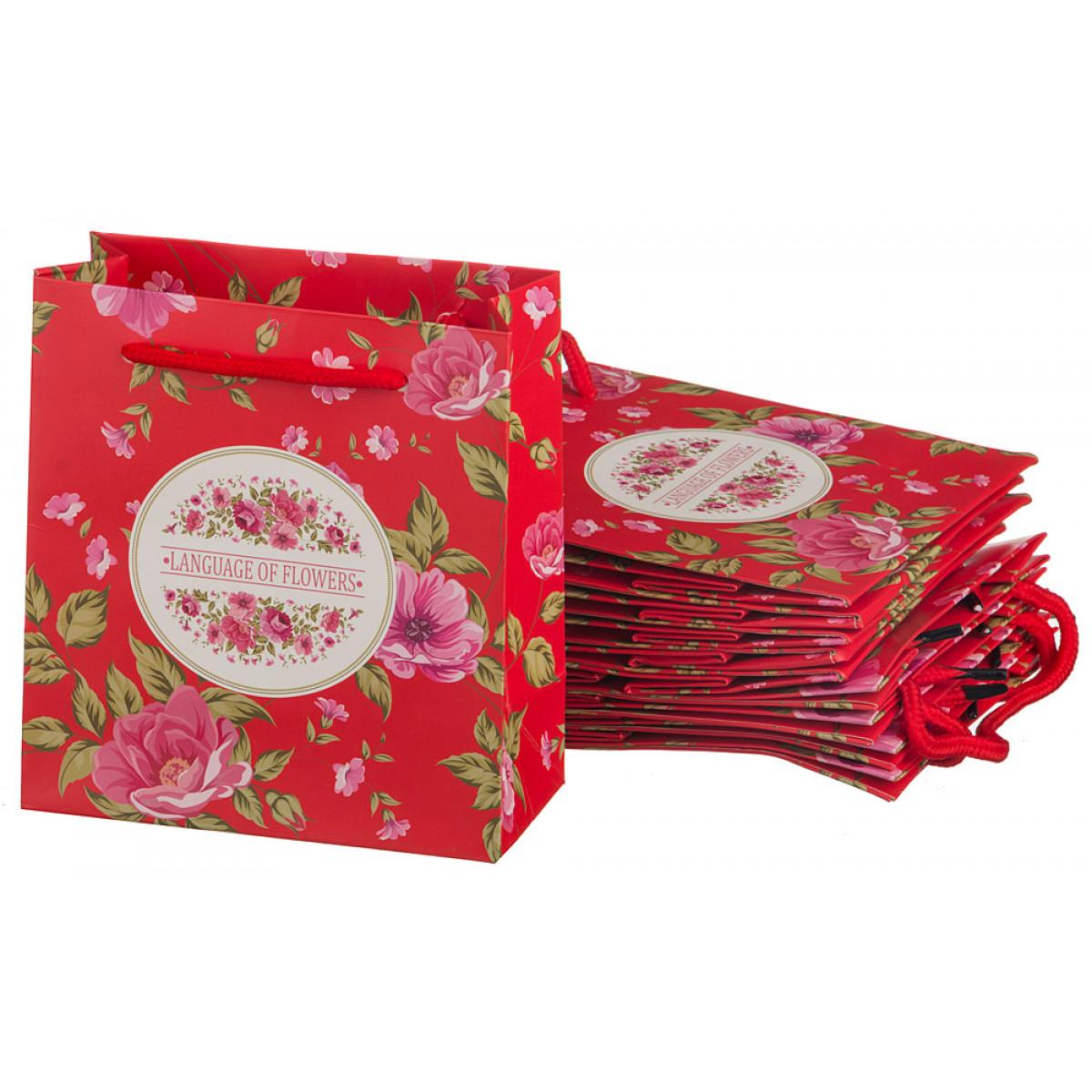 {} Lefard Пакет подарочный Sela (7х14х16 см - 10 шт) lefard пакет подарочный luvinia 7х14х16 см 10 шт
