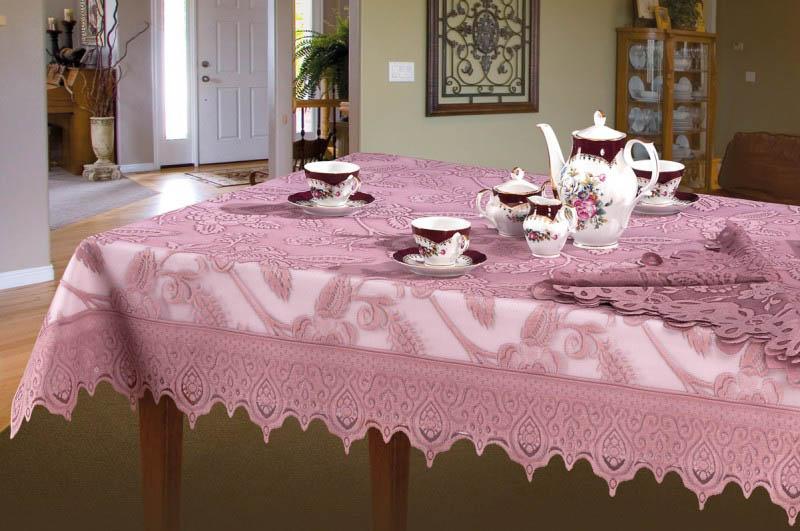 Скатерти и салфетки Wisan Скатерть Wros Цвет: Розовый (130х170 см) wisan