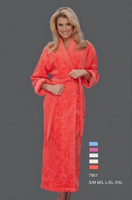 Сауны, бани и оборудование Virginia Secret Халат Maora Цвет: Голубой (L-xL) купить шелковый халат мужской спб