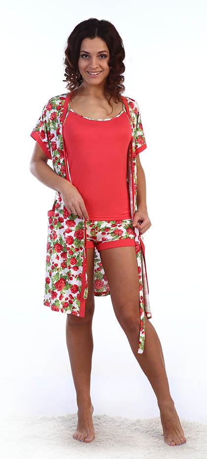 Костюмы для дома и отдыха Серенада Одежда для дома Maybelle Цвет: Красные Розы (L) виктория лайт серенада для невесты