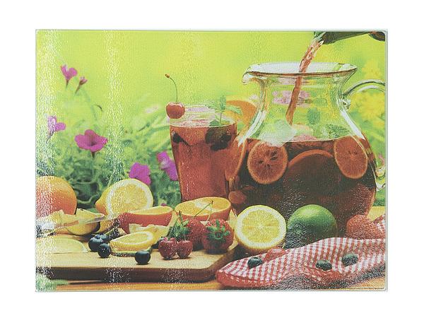 {} Best Home Kitchen Разделочная доска Фруктовый Морс (40х30 см) best home kitchen разделочная доска хлеб 40х30 см