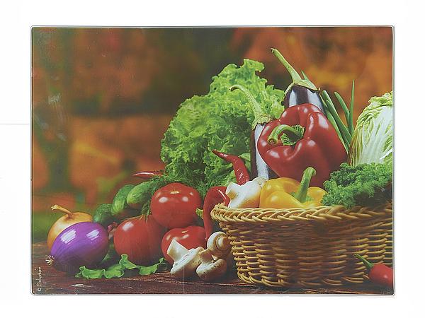 {} Best Home Kitchen Разделочная доска Овощи С Грядки (40х30 см) best home kitchen разделочная доска хлеб 40х30 см