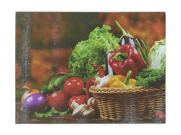 {} Best Home Kitchen Разделочная доска Овощи С Грядки (40х30 см) доска разделочная с ручкой mensa quelle dosh home 1026514