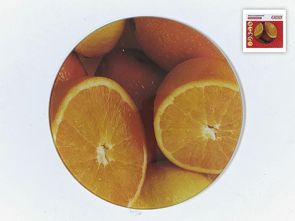 {} Best Home Kitchen Разделочная доска Апельсин (20 см) доска разделочная с ручкой mensa quelle dosh home 1026514