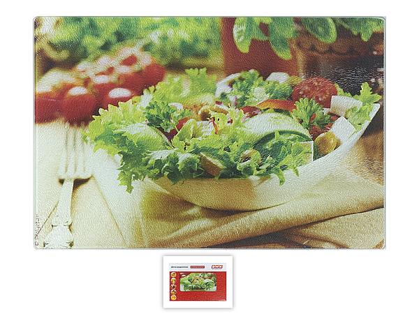 {} Best Home Kitchen Разделочная доска Греческий Салат (40х30 см) best home kitchen разделочная доска хлеб 40х30 см