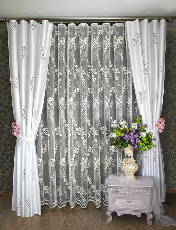 Шторы Haft Классические шторы Менуэт как тюль на окно
