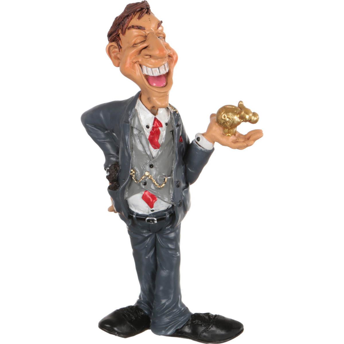 {} The Comical World Фигурка Бизнесмен (18 см) фигурки the comical world of stratford фигурка петух желаю роскошной жизни