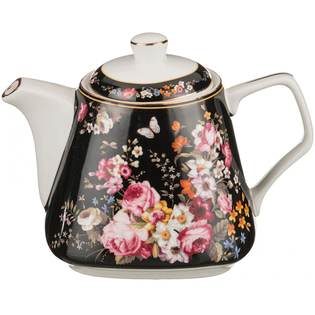 чайник заварочный hunan provincial лотос 600 мл {} Lefard Сервиз Sitare  (600 мл)