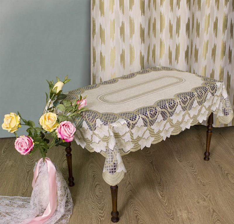 Скатерти и салфетки Haft Скатерть Neilina  (100х150 см) скатерть boyscout прямоугольная 110 x 150 см