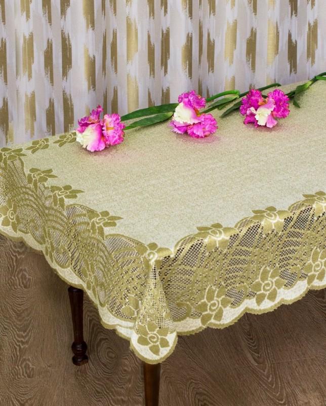 Скатерти и салфетки Haft Скатерть Marise Цвет: Ваниль-Оливка (130х180 см)