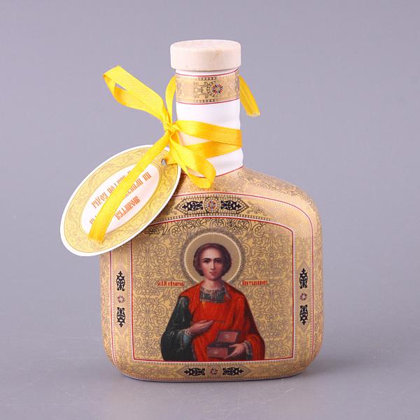 {} Lefard Сосуд для воды Святой Пантелеймон (250 мл) икона янтарная 23х33см святой пантелеймон кян 2 219