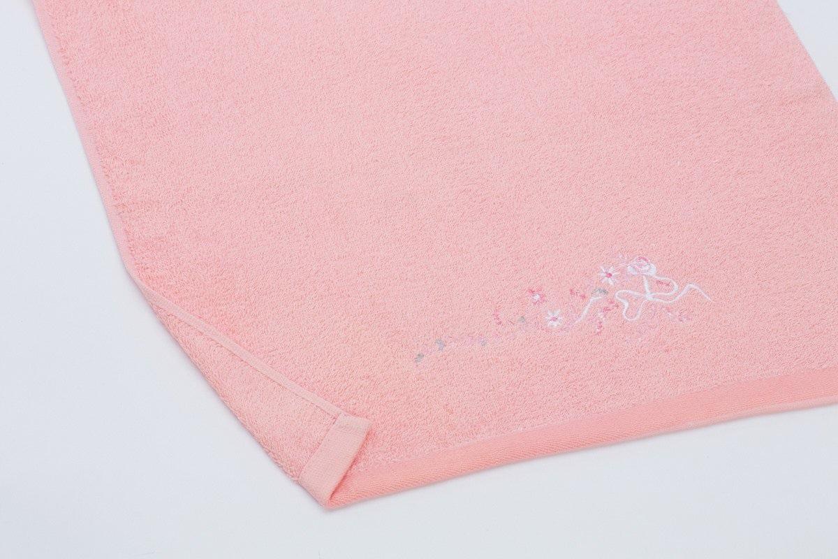 Полотенца Любимый дом Полотенце Мелисса Цвет: Коралловый (60х130 см) полотенца банные любимый дом полотенце 70х140