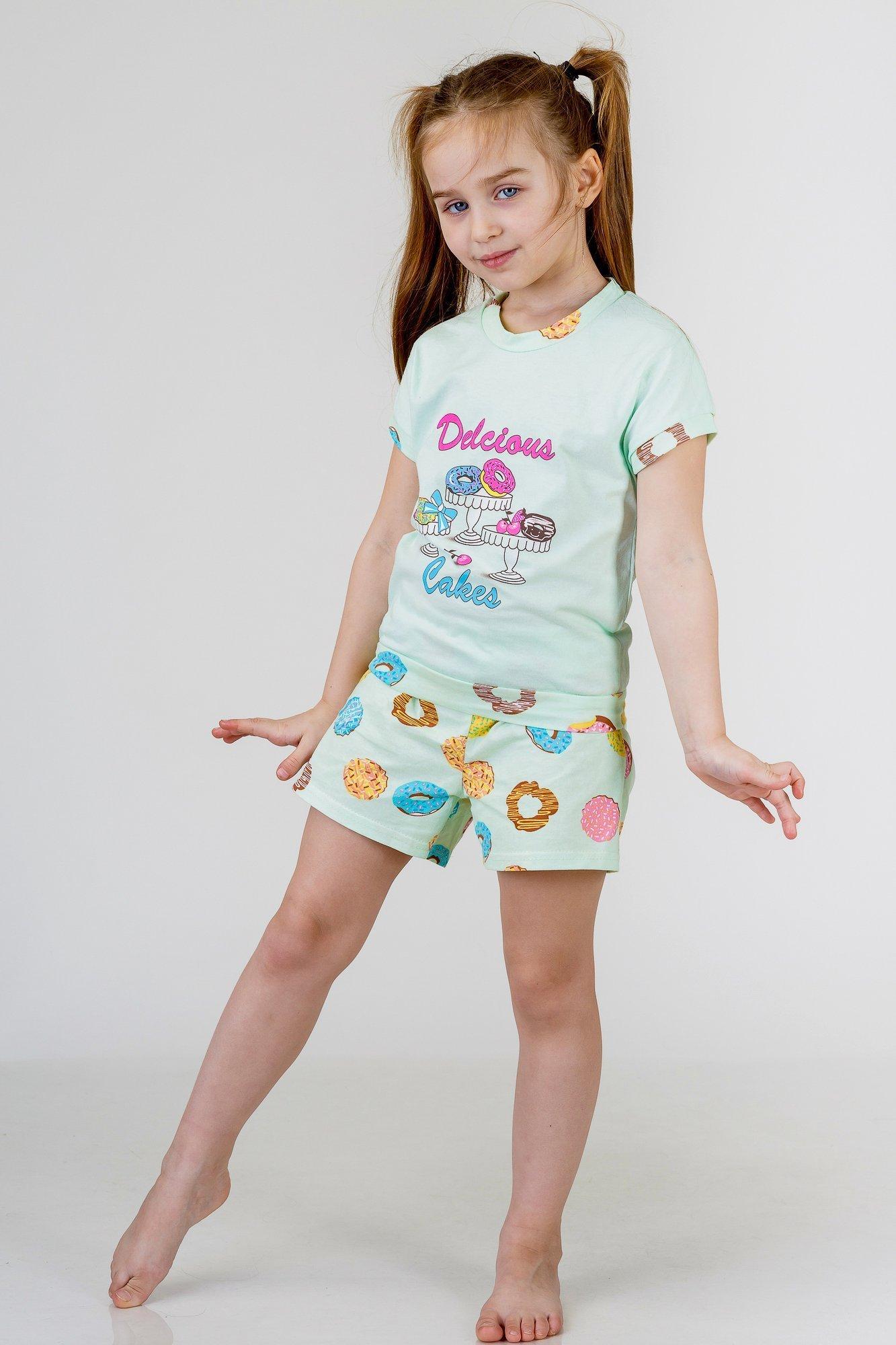 Детские пижамы Pastilla Детская пижама Лакомка Цвет: Ментол (4-5 лет)
