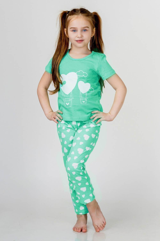 Детские пижамы Pastilla Детская пижама Стелла Цвет: Ментол (7 лет)