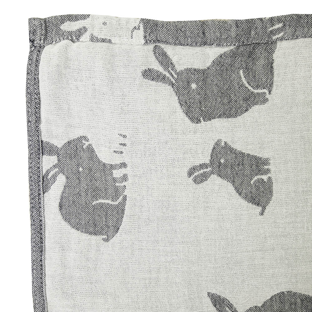 Покрывало Arloni Покрывало Зайчики Цвет: Серый (150х200 см) плед arloni снежный барс 150 x 200 см о 12 4