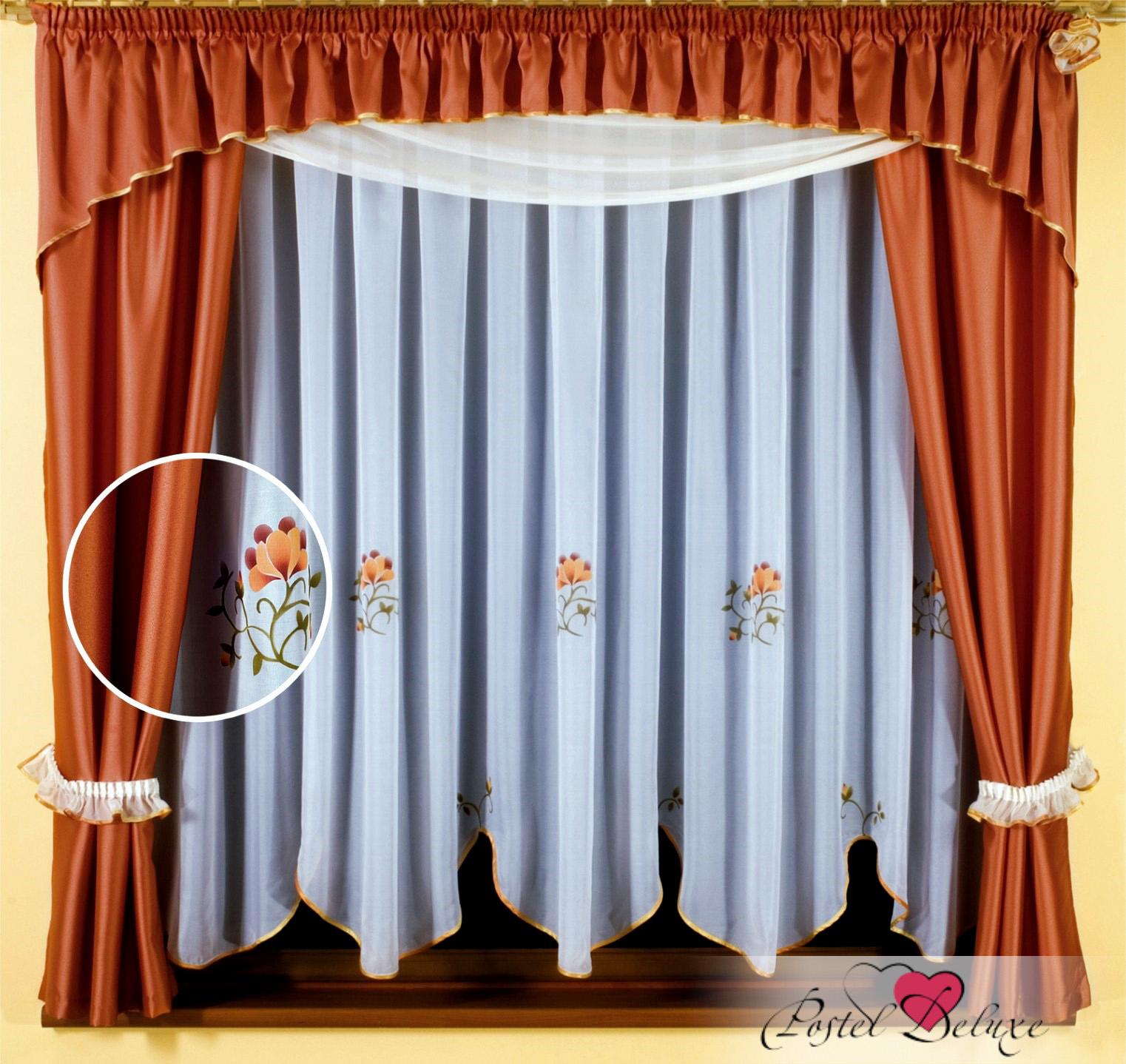 Шторы Wisan Шторы с ламбрекеном Jaga Цвет: Кремовый, Золотой шторы wisan шторы с ламбрекеном caprice цвет льняной